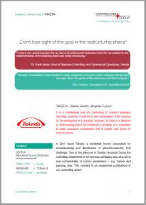 Takeda Customer Success Story PDF