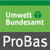 Logo of the Umweltbundesamt ProBas