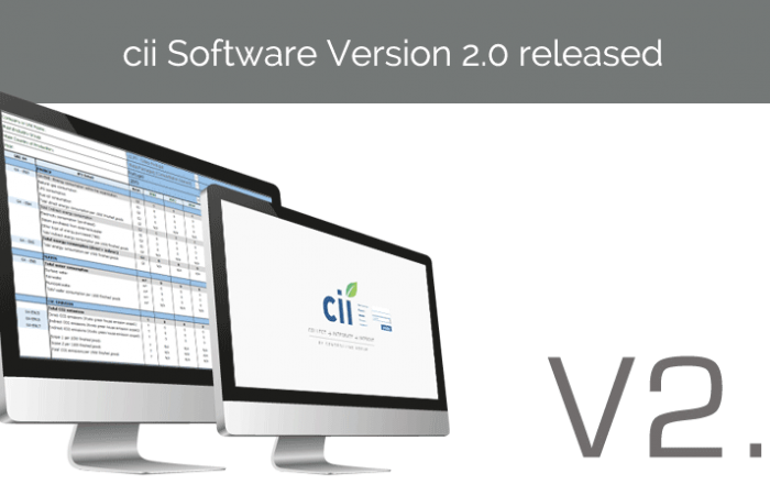 New cii Version
