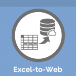 Excel-to-Web Icon